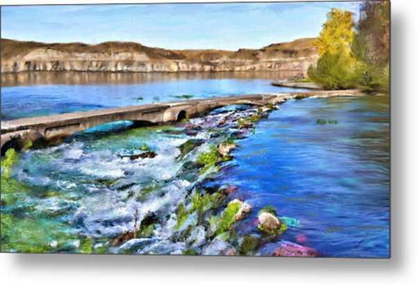 Giant Springs 3 Metal Print