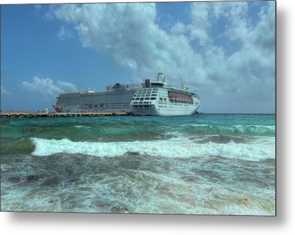 Metal Print featuring the photograph Giants Of The Sea by John M Bailey