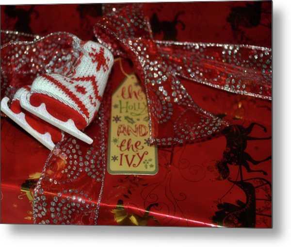 Gift Giving Metal Print by JAMART Photography