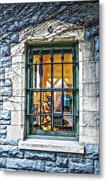 Gift Shop Window Metal Print