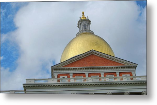 Gilded Dome Metal Print by JAMART Photography