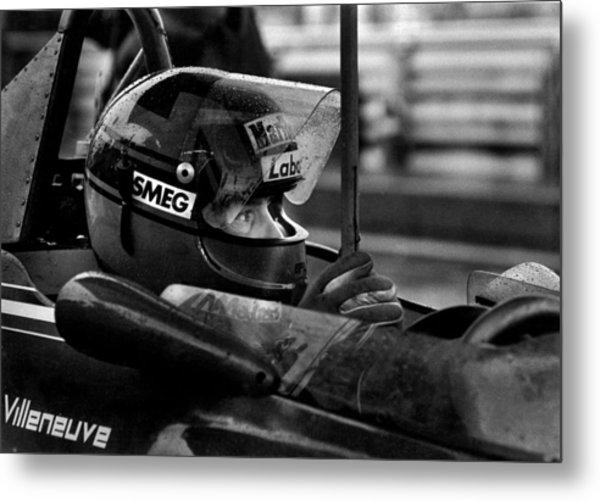 Gilles Villeneuve 1950-1982 Metal Print