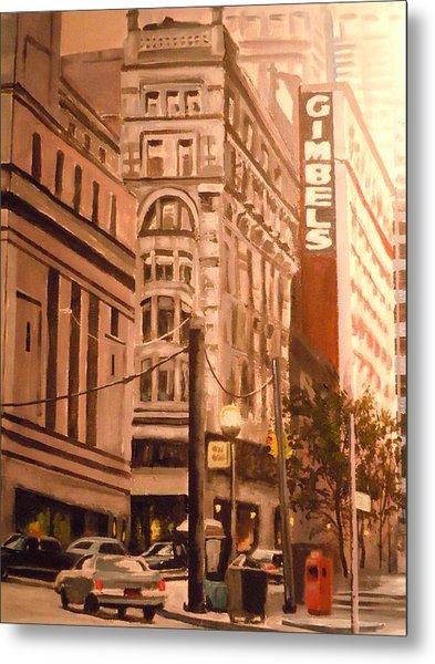 Gimbels In Pittsburgh Metal Print