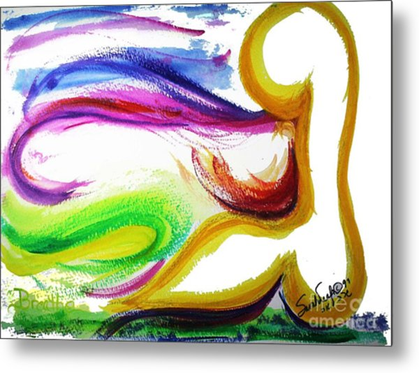 Gimel - Breathe Metal Print