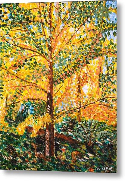 Gingko Tree Metal Print