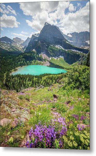 Ginnell Lake Overlook / Glacier National Park  Metal Print