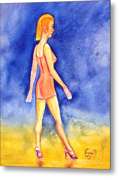 Ginny Metal Print by T Ezell