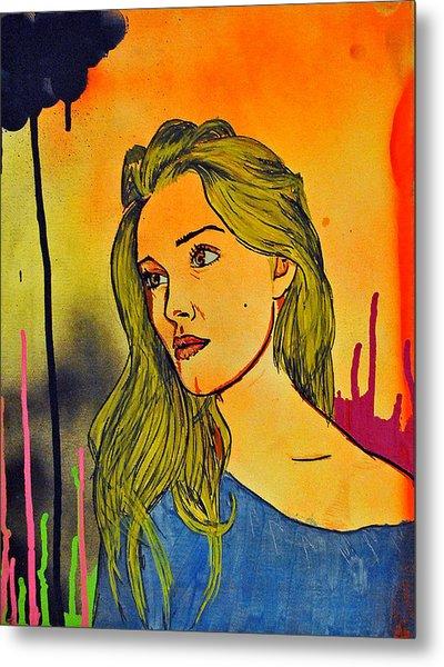 Girl 21 Metal Print