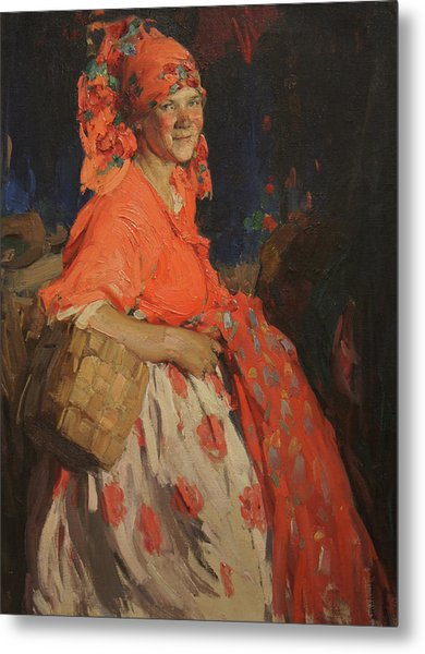 Girl Metal Print by Abram Arkhipov