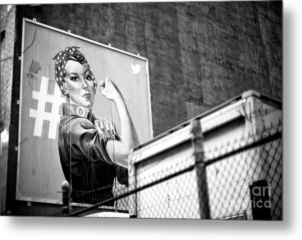 Girl Power New York City Metal Print