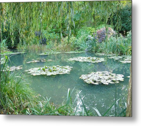 Giverny V Metal Print by Wendy Uvino
