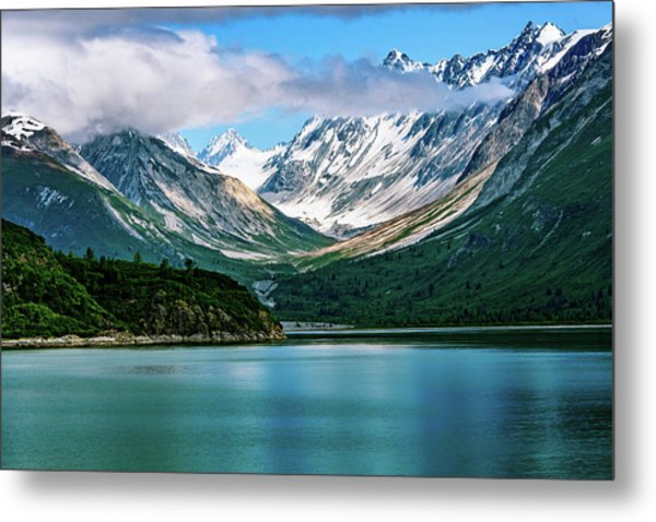 Glacial Valley Metal Print