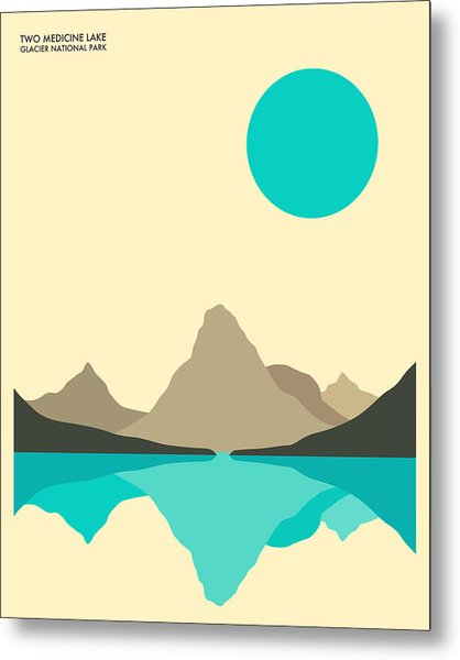 Glacier National Park Metal Print