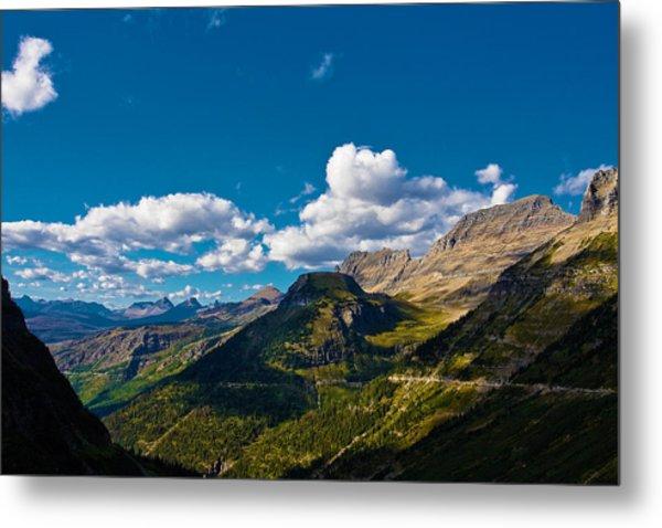 Glacier National Park Metal Print by Jon Woodbury