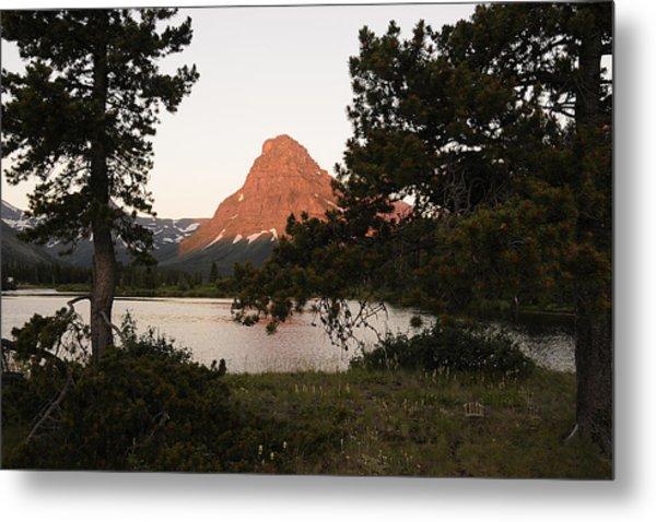 Glacier Nat'l Park-montana Metal Print by Keith Lovejoy