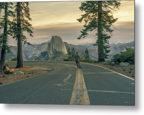 Glacier Point Adventure Metal Print