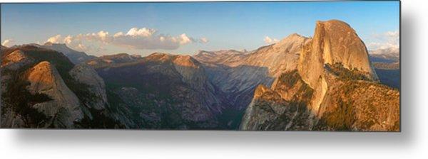 Glacier Point Panorama Metal Print