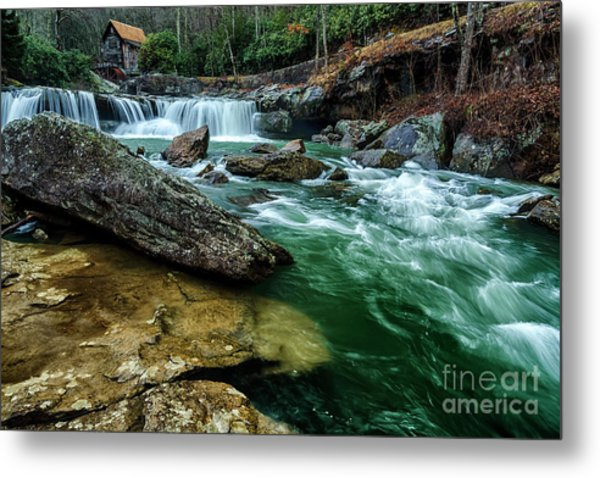 Glade Creek And Grist Mill Metal Print