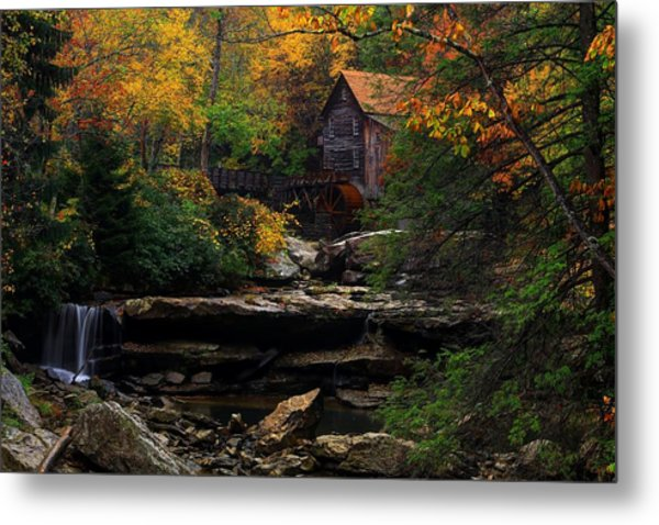 Glades Creek Grist Mill West Virginia Metal Print