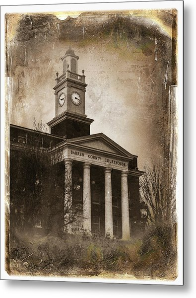Glasgow Ky Courthouse Metal Print