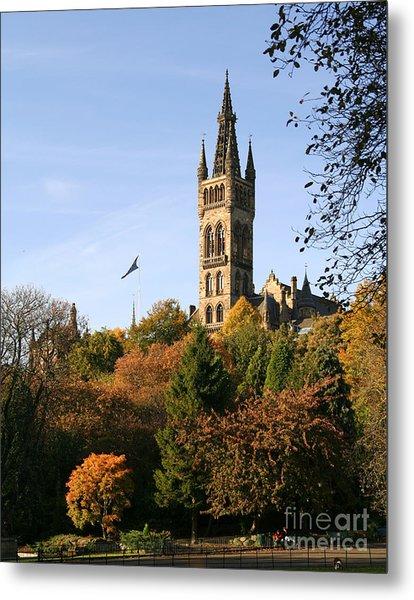 Glasgow University Metal Print