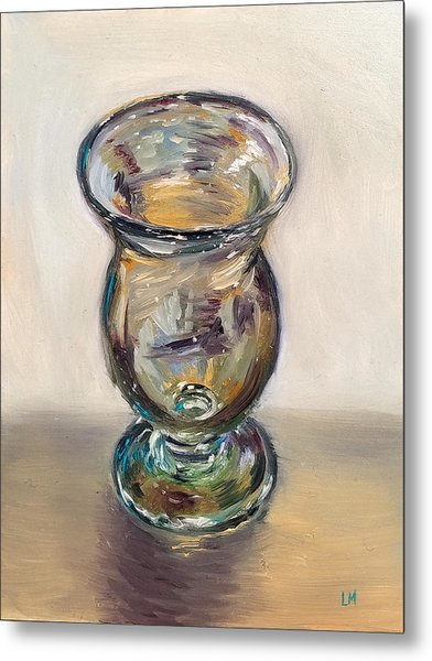Glass Goblet Metal Print