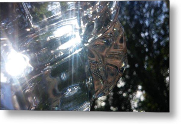 Glass Series #1 Metal Print by Emiliano Monchilov