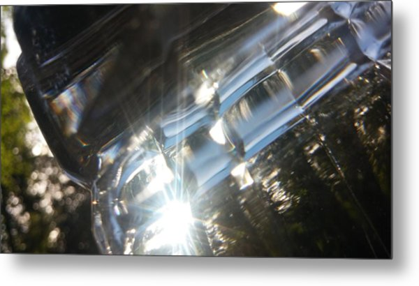 Glass Series #2 Metal Print by Emiliano Monchilov
