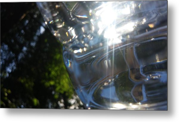 Glass Series #3 Metal Print by Emiliano Monchilov