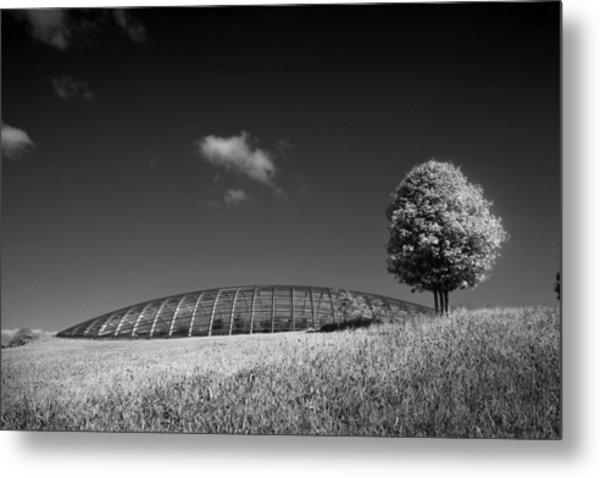 Glasshouse At The National Botanic Gardens, Wales Metal Print