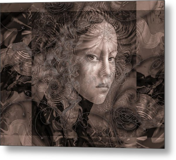 Glaze Metal Print