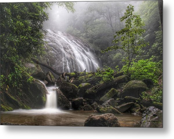 Glen Burney Falls Metal Print