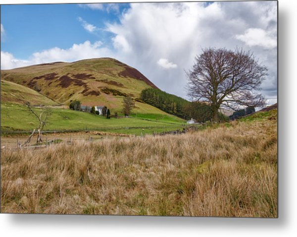 Metal Print featuring the photograph Glendevon In Central Scotland by Jeremy Lavender Photography