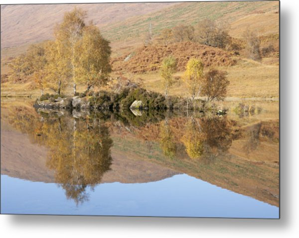 Glengarry Reflection Metal Print