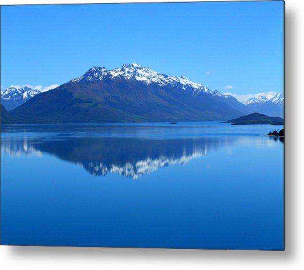 Glenorchy Road New Zealand Metal Print