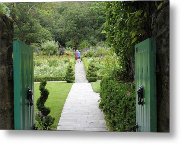 Glenveagh Castle Gardens 4272 Metal Print