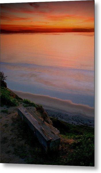 Gliderport Sunset 2 Metal Print