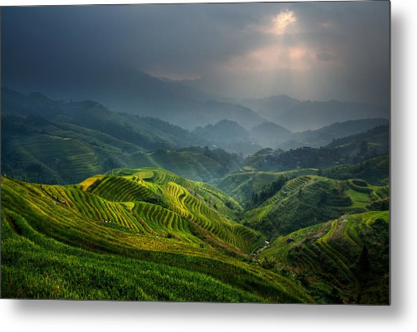 Glimmer Of Light Metal Print by Gunarto Song