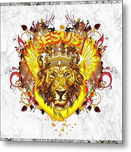 Glorious Jesus Metal Print
