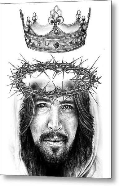 Glory To The King Metal Print