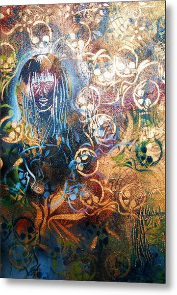 Glow In The Dark Metal Print by Dorian Williams