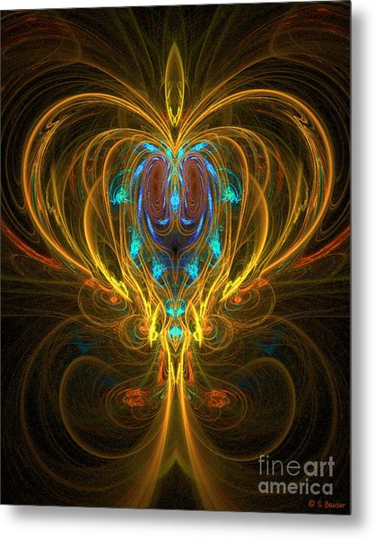 Glowing Chalise Metal Print