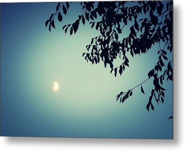 Glowing Moon  Metal Print