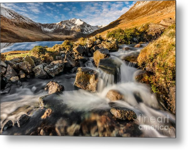 Glyder Fawr Mountains Metal Print