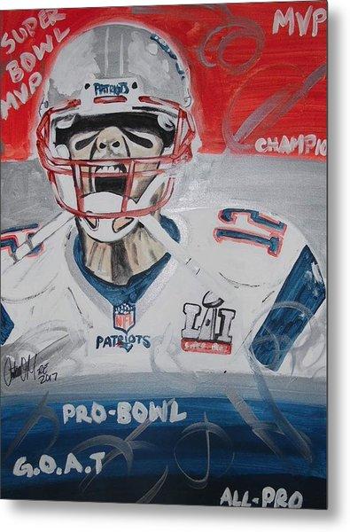 Goat Brady Metal Print
