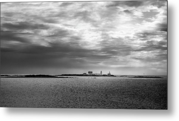 Goat Island Light, Cape Porpoise, Maine Metal Print