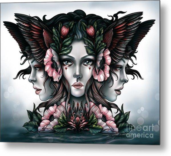 Goddess Of Magic Metal Print
