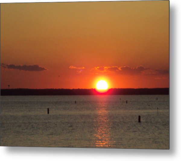 God's Eye Metal Print
