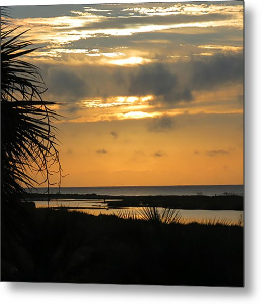 God's Gold Metal Print