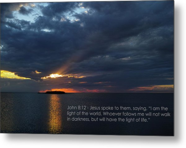 God's Lighthouse  Metal Print by Roberto Aloi